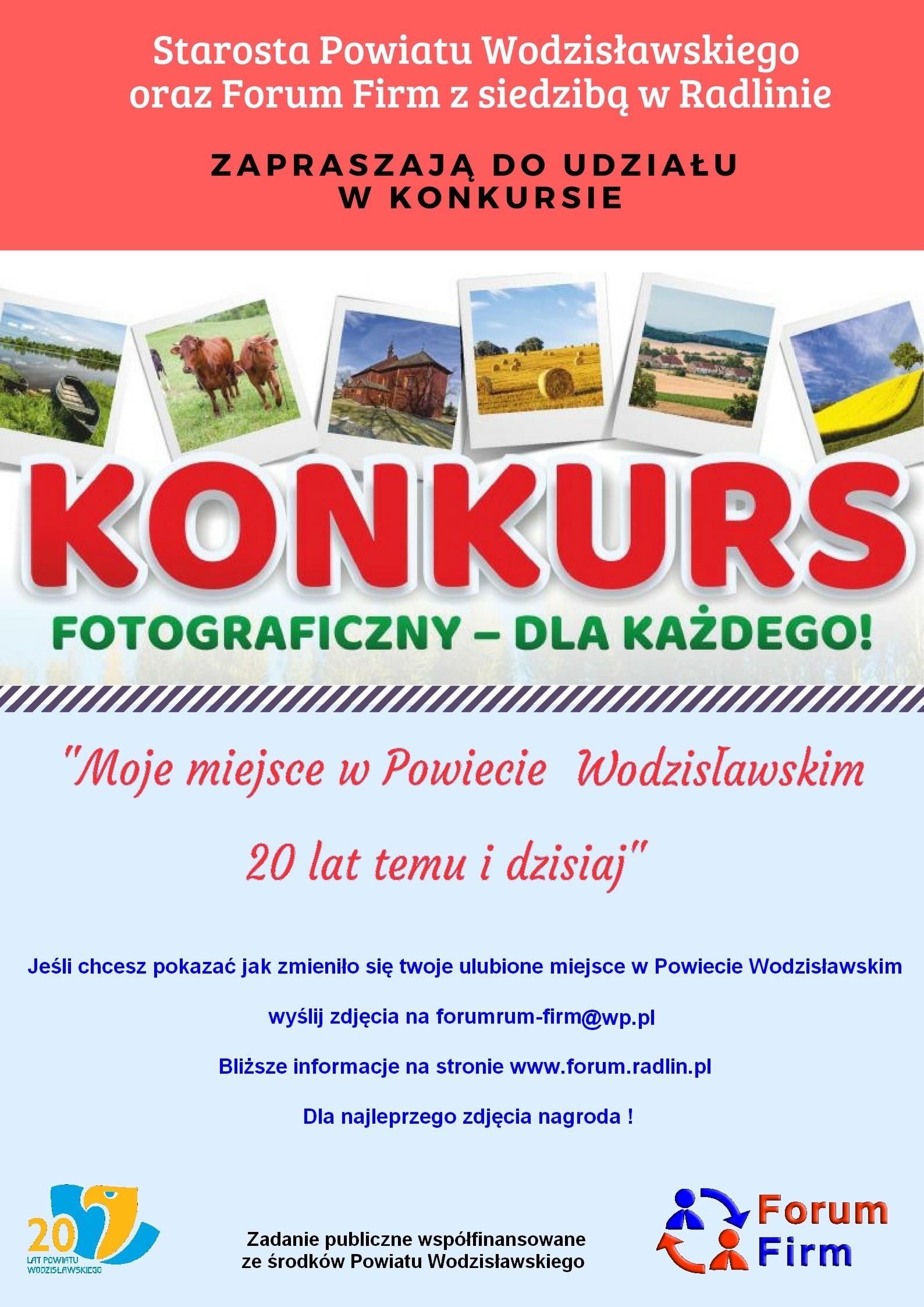 plakat Konkurs Powiat