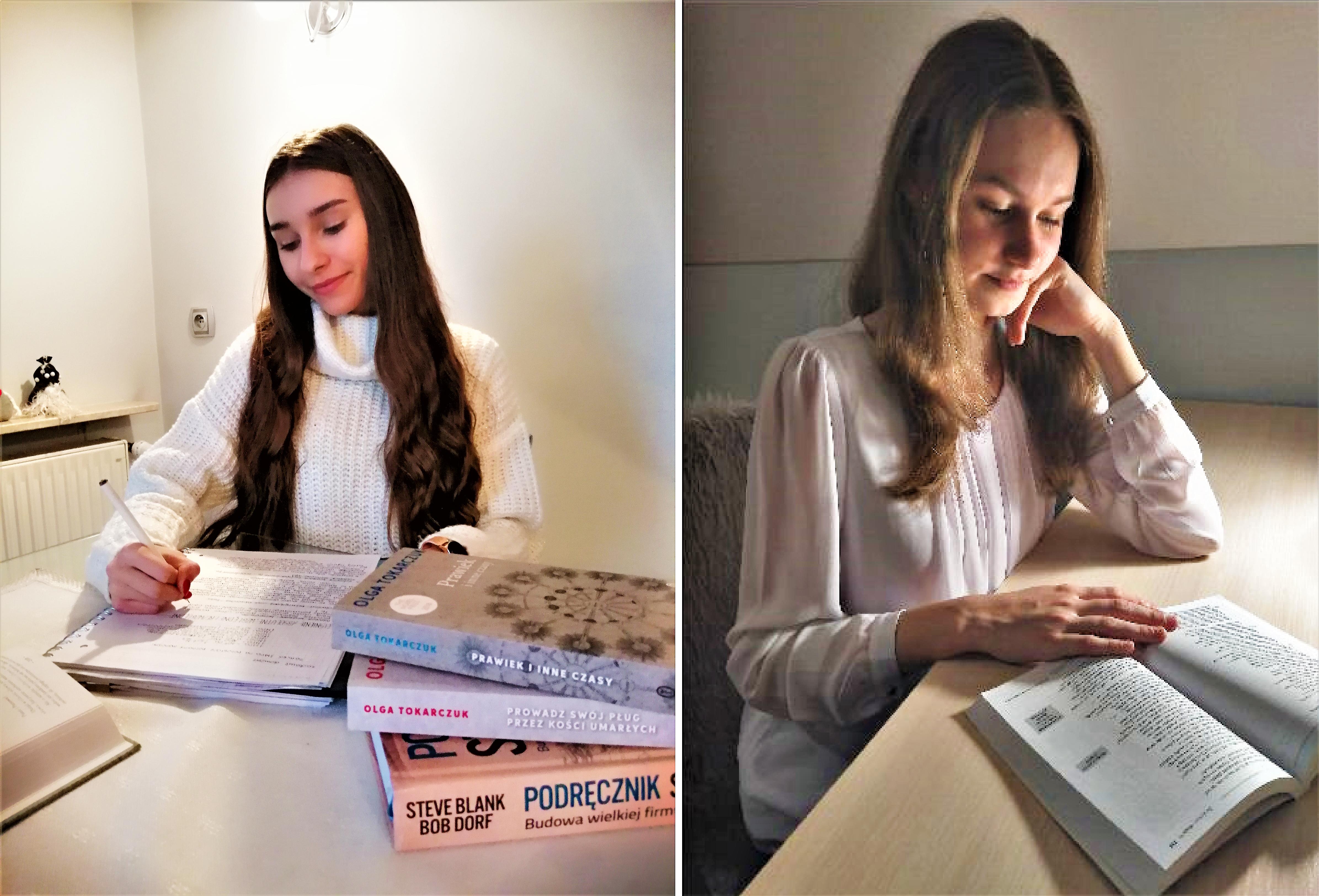 Dziewczyny rozwijają się literacko - wygrywają konkursy