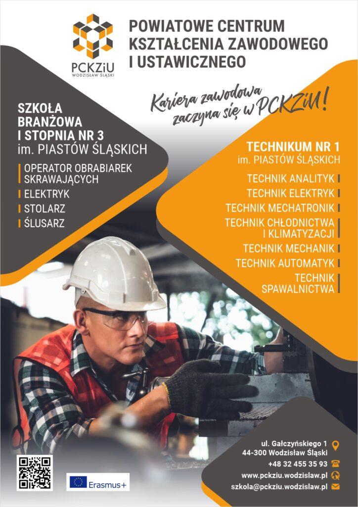 Kierunki naboru do szkoły PCKZiU w Wodzisławiu Śląskim