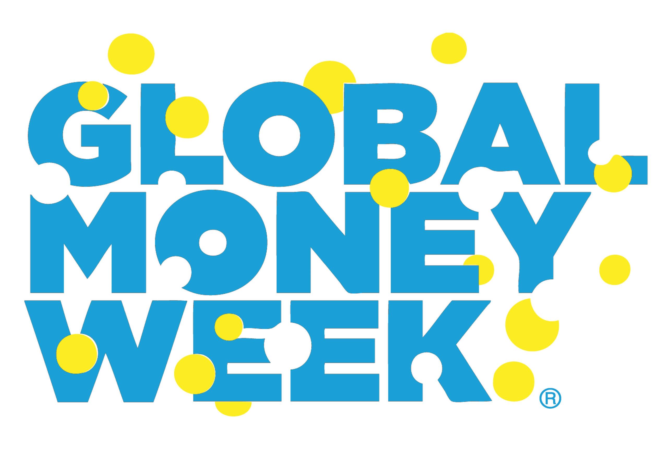 Ilustracja z logo światowego tygodnia pieniądza