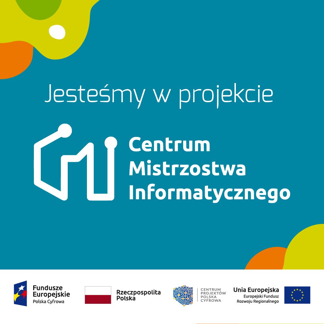 Ilustracja projektu Centrum Mistrzostwa Informatycznego